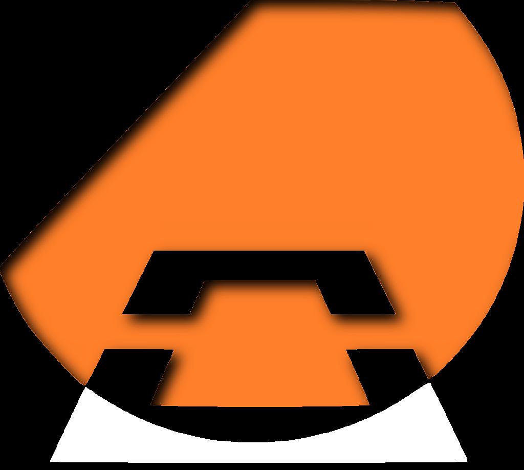 firstonthesun Logo in orange und weiß.