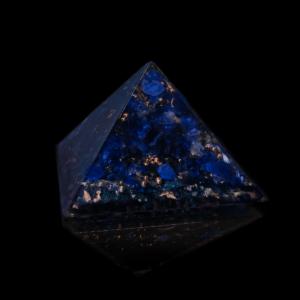 "Orgonit Pyramide Blau ""Third Eye"""