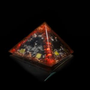 "Orgonit Kristall ""Lava"" Pyramide"